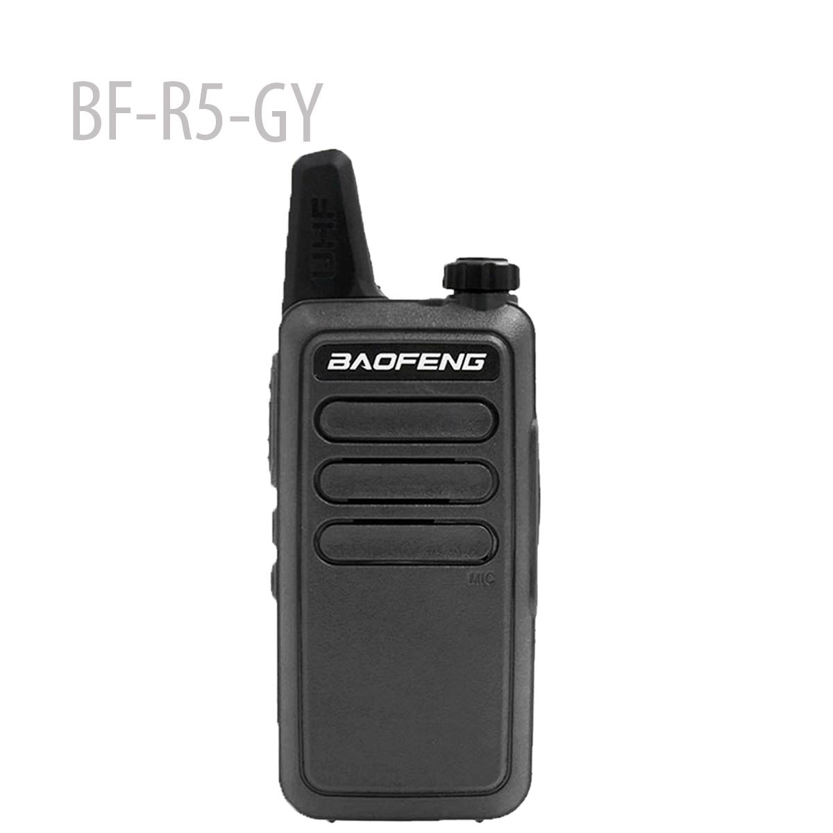 BAOFENG BF-R5-GY Mini Portable two way radio UHF 400-470MHz