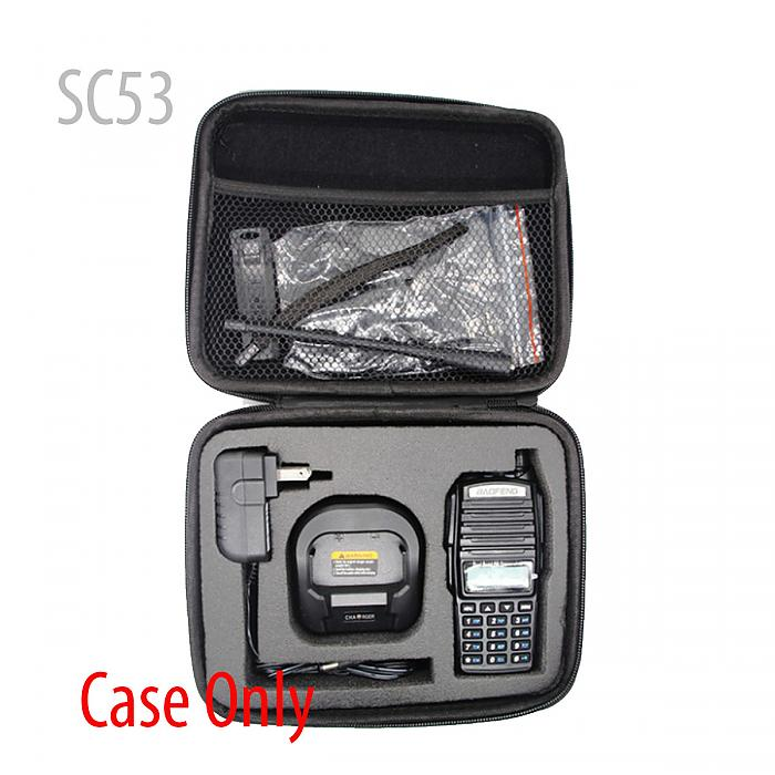 Handbag Storage Box/Bag carrying radio case for BAOFENG UV-82 UV89UV82HP