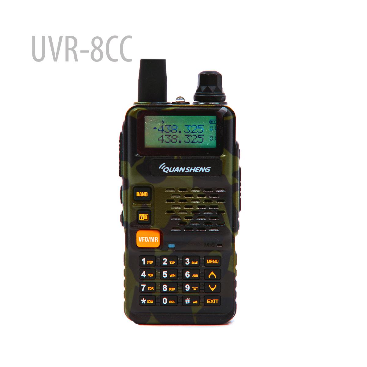 QUANSHENG UVR8-CC Duel Band Radio UV136~174400-480MHz